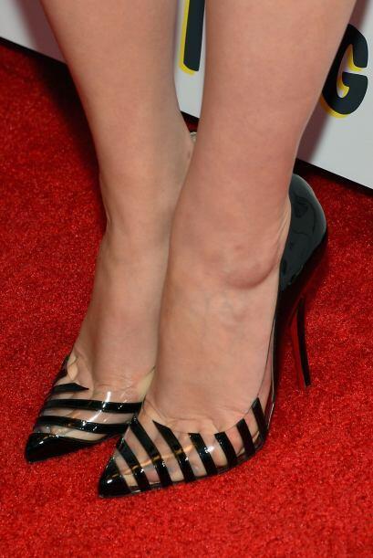 Esos zapaton Christian Louboutin se le ven sensacionales.