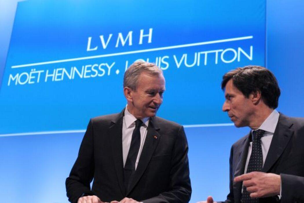 A sus 62 años, Arnault tiene una fortuna total de $41 mil millones. Su c...