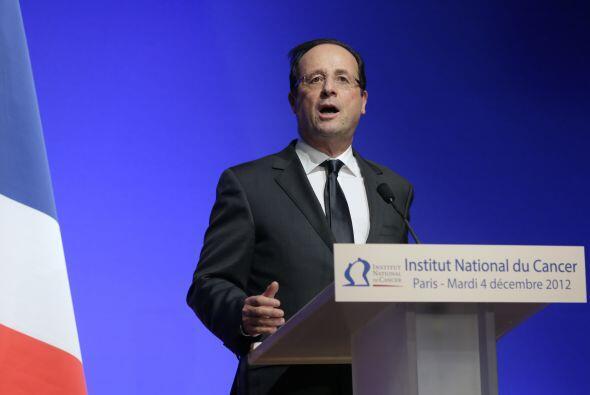14. FRANCOIS HOLLANDE  Puesto- Presidente de Francia.  Organización- Gob...