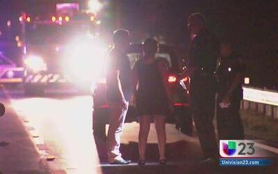 Tres jóvenes arrollados por un automóvil