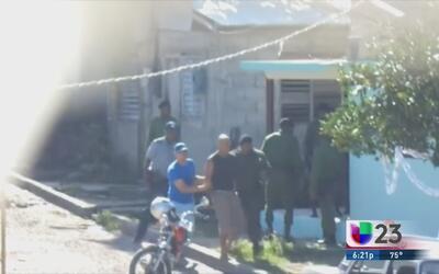 Represión para opositores en Cuba