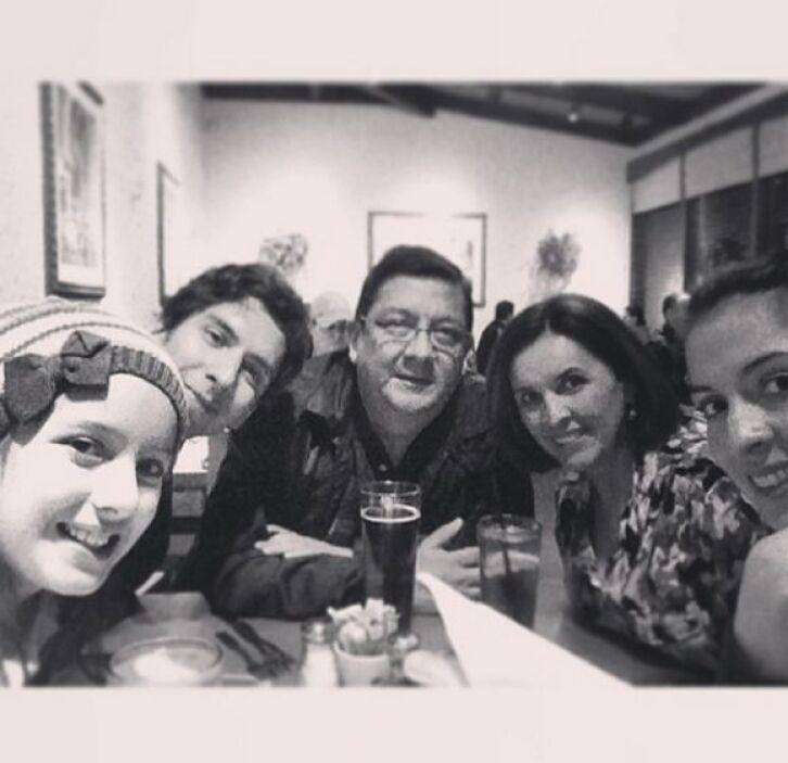 """Solo falta @einteriano7 #familia #feliz"", dijo Maity Interiano. (Noviem..."
