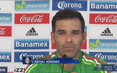 """Rafael Márquez: """"Gio y Vela ya no necesitan (ir al Tri), son importantes..."""