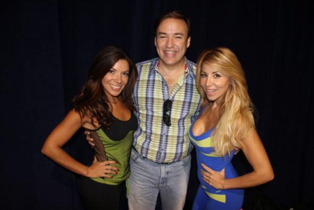 Las bellas Roxana Garcia y Paula Arcila se movieron como nunca haciendo...