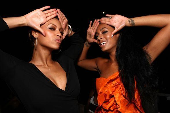 Beyoncé y Solange Knowles. Solange Knowles sigue los pasos de su hermana...