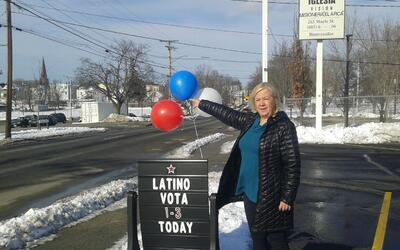 Eva Castillo, activista latina en New Hampshire