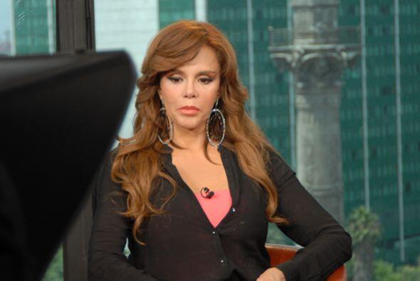 """""""Fue gracias a la popularidad de mis telenovelas en Europa que me eligie..."""