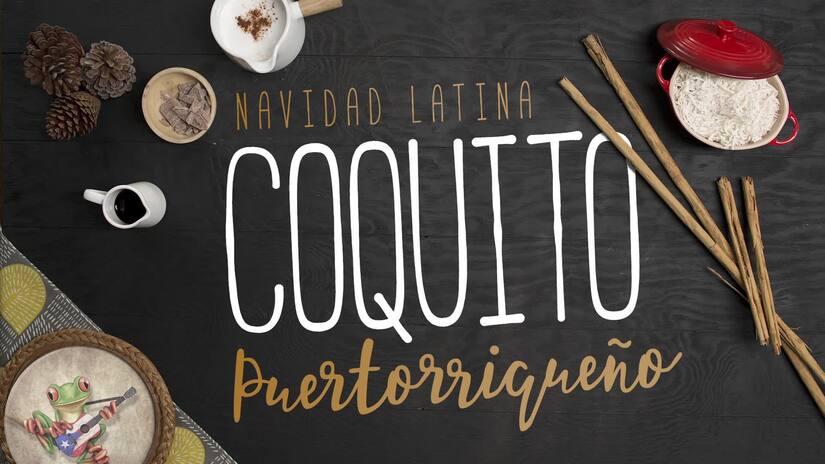 """Coquito puertorriqueño - El Recetario """"Temporada navideña"""" #ComoEnCasa"""