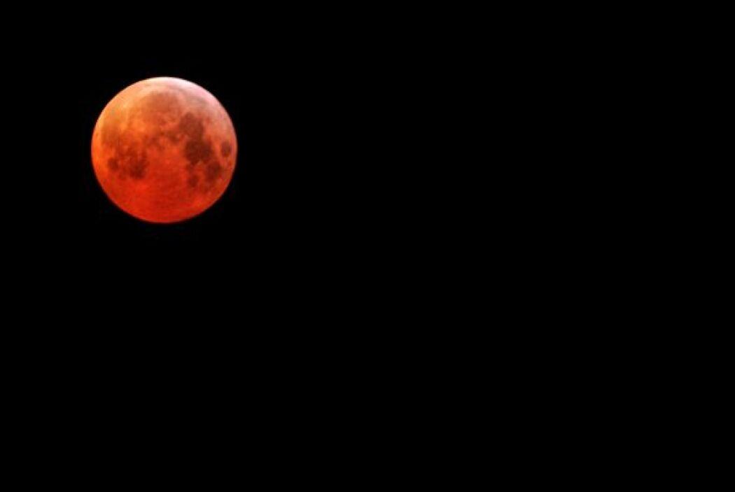 """Las """"lunas rojas"""" o eclipse de """"sangre"""" son uno de los eventos que a lo..."""