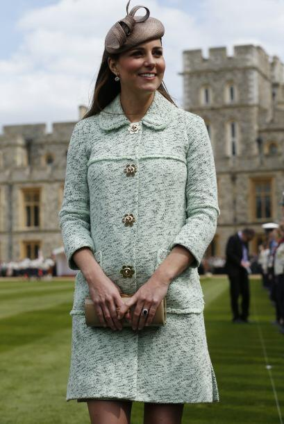 Como sea, Kate Middleton ¡luce radiante y espectacular!