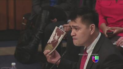 José Antonio Vargas salió libre luego de ser detenido por agentes fronte...