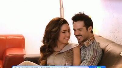 Ariadne Díaz dijo que quiere seguir en la vida de José Ron.