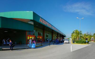 Aeropuerto Abel Santamaría en Santa Clara, Cuba