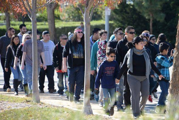 A los visitantes no los detuvieron las bajas temperaturas, el tráfico, n...