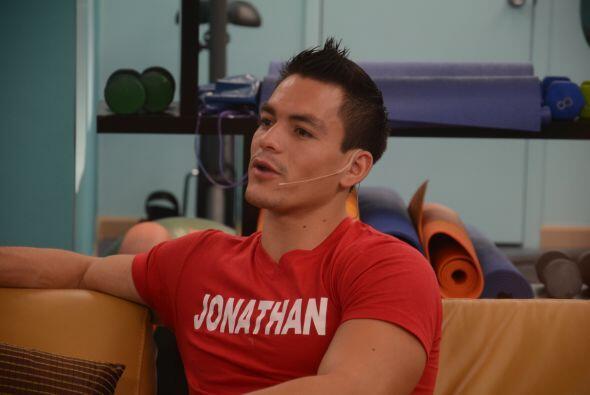 Jonathan quiso abrirse a sus compañeros y contar que su pequeño es el mo...