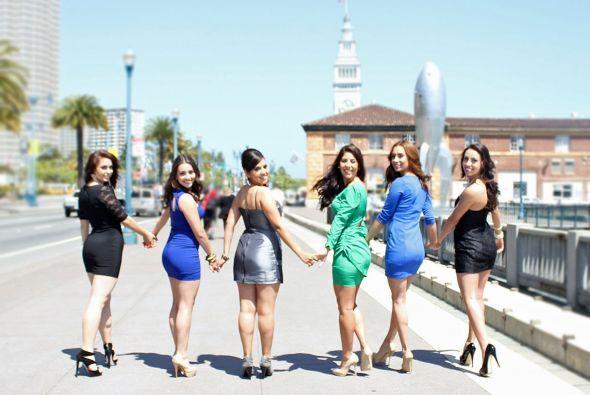 Siete jovenes hermosas participaron en el Certamen de Señorita Jalisco 2...