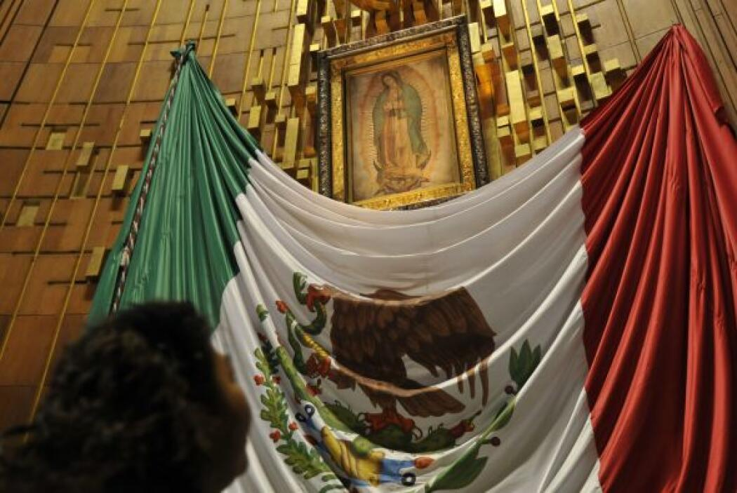 La Basílica de Guadalupe, en Ciudad de México, es el segundo templo cató...