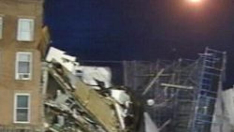 Edificio bajo reparacion en Brooklyn colapso 391b51dcb453492c82314bc8d9e...