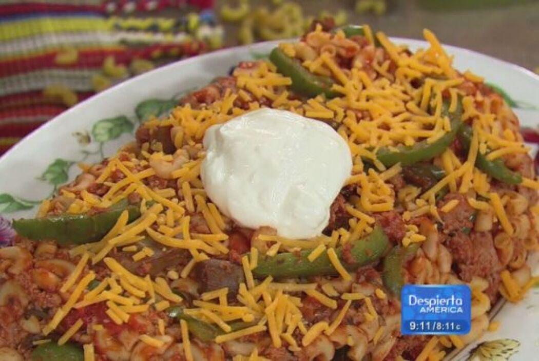 Receta de Sopa de coditos de Chili con el Chef Pepín  El chef Pepín nos...