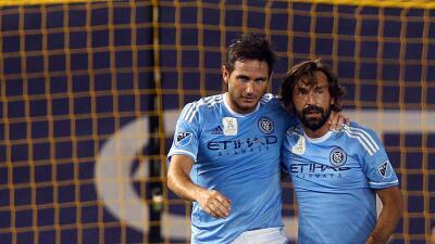 Andrea Pirlo y Frank Lampard tendrán descanso.