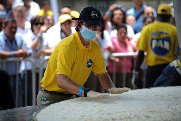 Venezuela rompió el récord Guinness de la arepa más grande del mundo, de...
