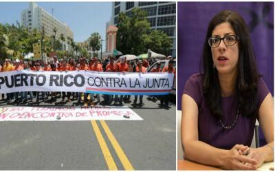 Puerto Rico contra la junta de control fiscal