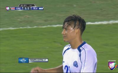 Dustin Corea revivió a El Salvador y es el Jugador Especial en Copa Oro...