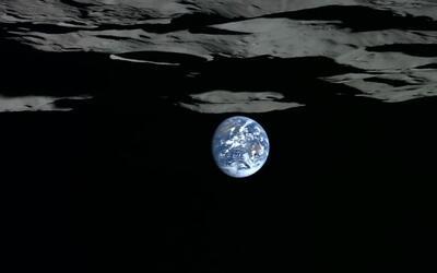 En video: la Tierra ocultándose en el horizonte de la Luna