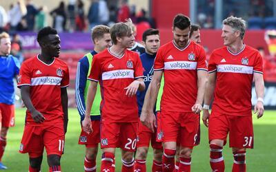 Bastian Schweinsteiger Luis Solignac Chicago Fire