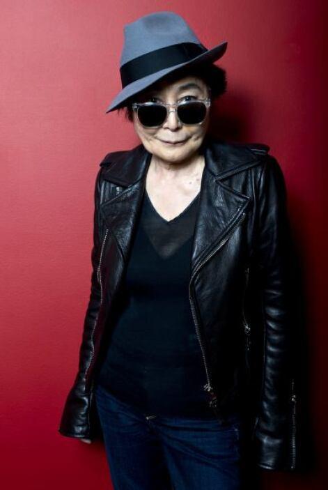 Yoko Ono: Nació en Tokio en 1933, pero cuando tenía 19 años se trasladó...