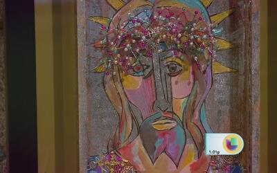 Alex Tirado se dedica a su gran pasión: el arte plástico
