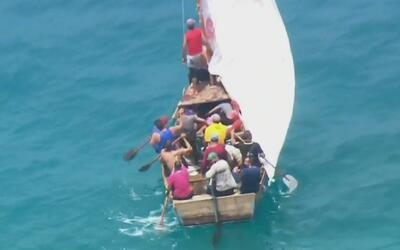 ¿Qué hay detrás de la disminución en casos de balseros cubanos intercept...