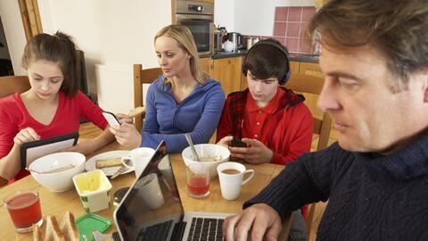 Tiempo en familia con gadgets