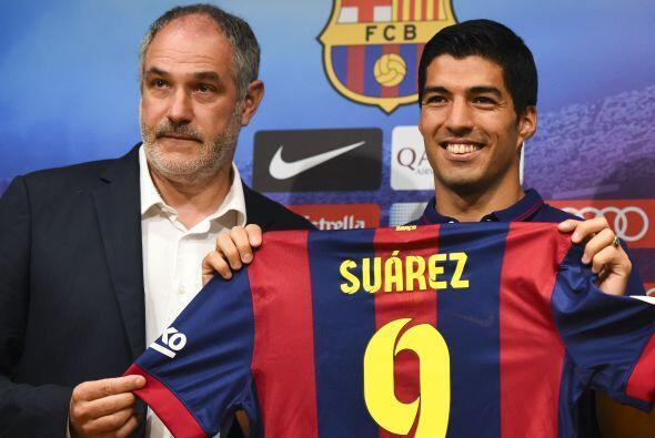 El delantero uruguayo se mostró muy contento de cumplir su sueño de juga...