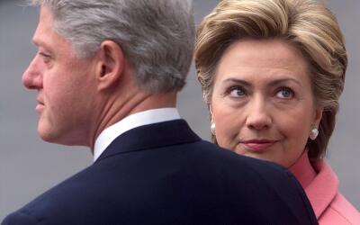 Donald Trump desempolva escándalos sexuales de Bill Clinton en los '90 p...