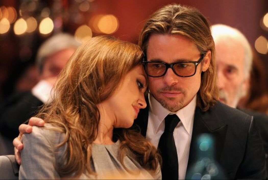 Su familia es lo más importante para ella, seguramente su pareja, Brad P...