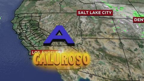 Cielo despejado y día cálido para este viernes en Los Ángeles