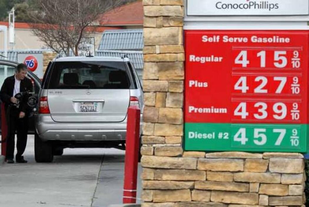 Incluso la opción de pre pago por la gasolina en una empresa de alquiler...
