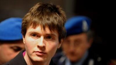 Raffaele Sollecito, condenado junto con Amanda Knox, fue detenido en Ita...