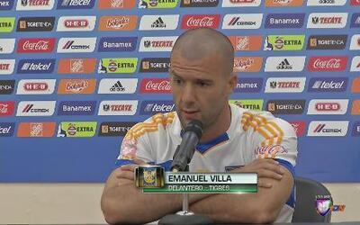 """Emanuel Villa: """"Quiero volver a encontrar al mejor Tito"""""""