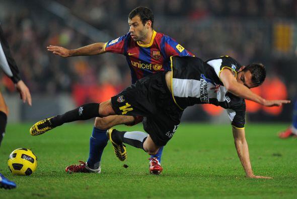 Los 'blaugranas' recibieron en el Camp Nou al Levante.