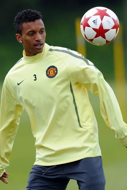 El portugués Nani demuestra en cada entrenamiento todo su talento y cali...