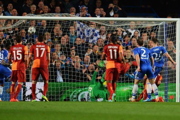 Hasta el minuto 42 llegó el segundo tanto del partido.
