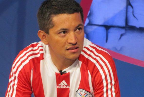 El paraguayo Sergio Benítez habló del empate de su equipo...