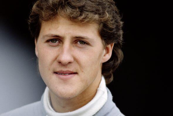 Michael Schumacher nació el el 3 de enero de 1969 en Hurt Hermuelheim, A...