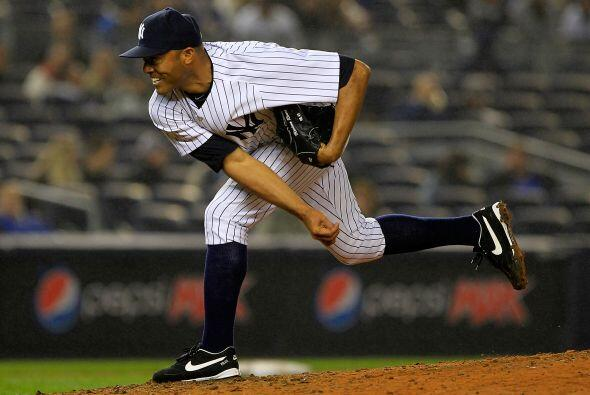 Cerrador: El panameño de los Yankees Mariano Rivera logró...