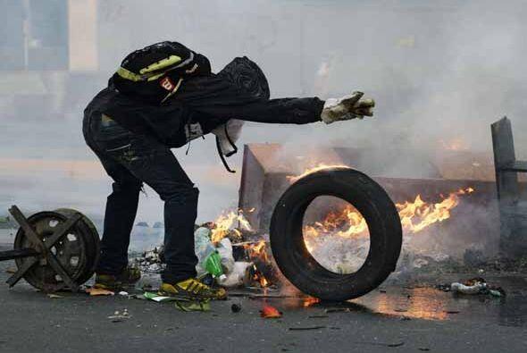 De acuerdo con manifestantes, las respuestas de las fuerzas de seguridad...