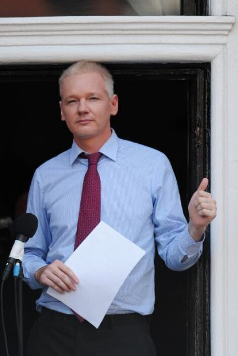 Julian Assange, fundador de Wikileaks El caso de Snowden remite inmediat...