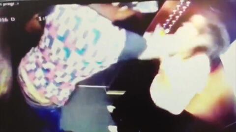 Esta fue la brutal agresión de un futbolista colombiano a una mujer
