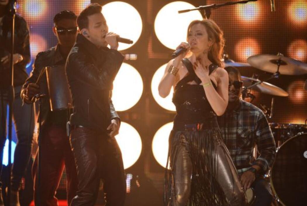 ¡Pura bachata! Así cantaron a dueto el tema 'Te Perdiste Mi Amor'.